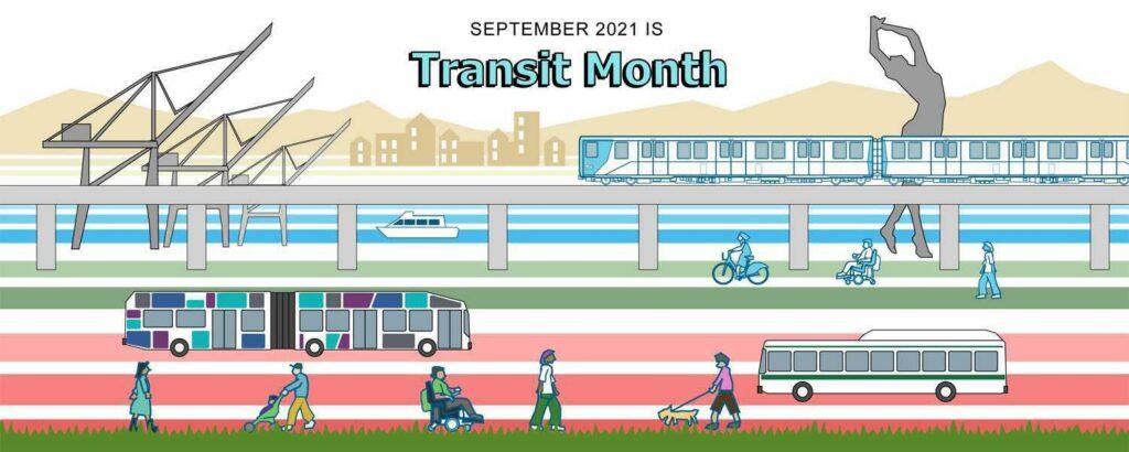 September 2021 is Transit Month